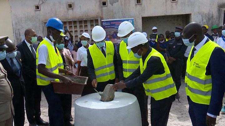 Lancement des travaux de réhabilitation du Lycée professionnel d'Adzopé