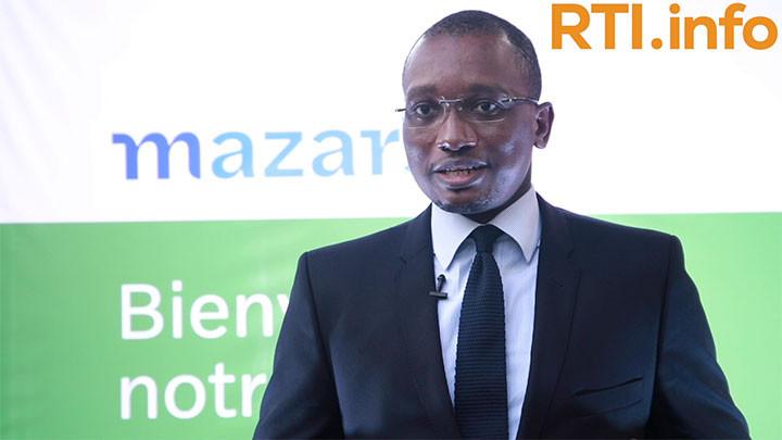 """Zana Koné (Directeur général Mazars Côte d'Ivoire) : """"Il était important pour nous de réadapter notre identité visuelle aux évolutions."""""""